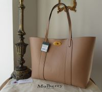 Mulberry Bayswater Tote in Rosewater Small Classic Grain Leather - New*