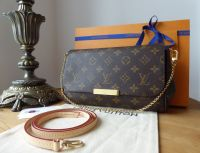 Louis Vuitton Favorite MM in Monogram Vachette - As New