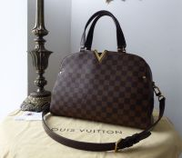 Louis Vuitton Kensington Bowler in Damier Ebene