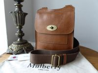 Mulberry Small Classic Antony in Oak Natural Vegetable Tanned Leather