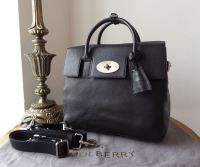 Mulberry Cara Delevingne Back Pack in Black Natural Vegetable Tanned Leather - New*