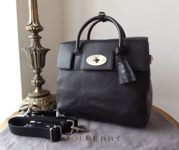 Mulberry Cara Delevingne Back Pack in Black Natural Vegetable Tanned Leather - SOLD
