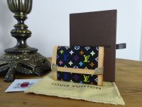 Louis Vuitton Coin Purse in Multicolore Noir
