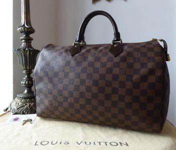 Louis Vuitton Speedy 35 in Damier Ebene - SOLD