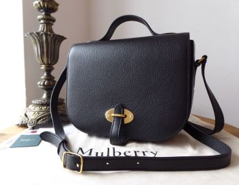 Mulberry Tenby in Black Goat Textured Calf Leather - SOLD