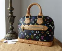 Louis Vuitton Alma in Multicolore Monogram Noir