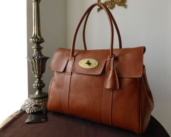 Mulberry Classic Heritage Bayswater in Oak Darwin Leather - SOLD