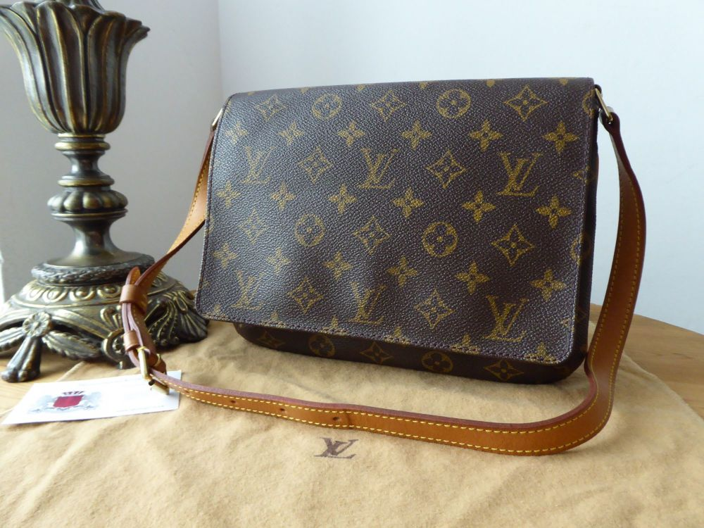 ed9e47be3 Louis Vuitton Musette Tango Shoulder Bag in Monogram - SOLD