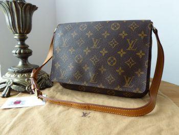 Louis Vuitton Musette Tango Shoulder Bag in Monogram - SOLD
