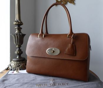 Mulberry Del Rey in Oak Natural Vegetable Tanned Leather (Larger Sized) - SOLD