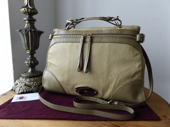 Mulberry Taylor Satchel in Summer Khaki Soft Matte Leather