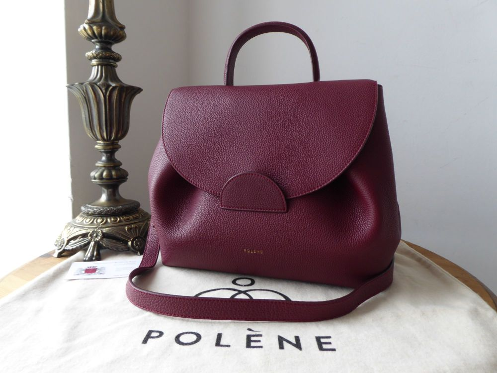 Polène Numéro Un in Monochrome Burgundy Calfskin - As New*