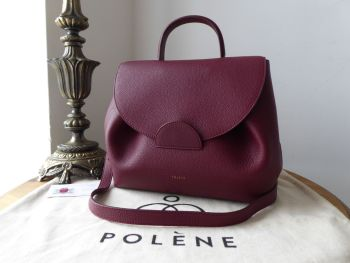 Polène Numéro Un in Monochrome Burgundy Calfskin - As New* - SOLD