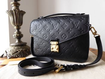 Louis Vuitton Pochette Métis in Empreinte Noir - SOLD