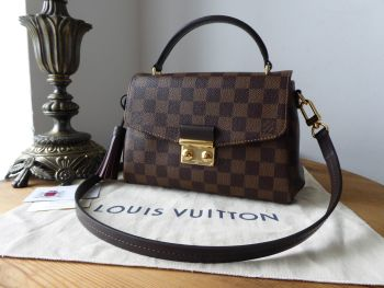 Louis Vuitton Croisette in Damier Ebene - SOLD