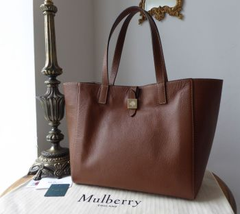 Mulberry Tessie Tote in Oak Soft Small Grain Leather - New*