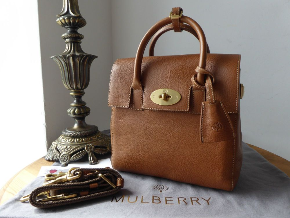 900a02ae548 Mulberry Mini Cara Delevingne Bag in Oak Natural Vegetable Tanned Leather -