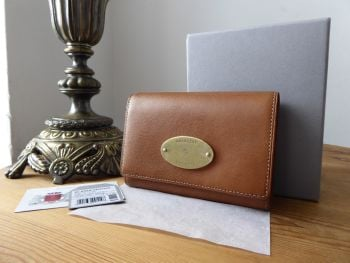 Mulberry French Wallet Purse in Oak Natural Vegetable Tanned Leather - SOLD