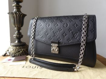 Louis Vuitton Saint Germain MM in Studded Monogram Platine Empreinte - SOLD