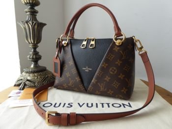 Louis Vuitton V Tote BB in Monogram Noir - SOLD