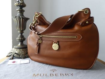Mulberry Somerset Shoulder Hobo in Oak Pebbled Leather - SOLD