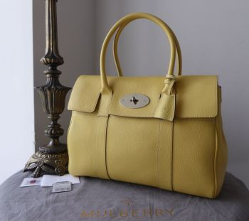 Mulberry Classic Heritage Bayswater in Camomile Yellow Small Classic Grain - SOLD