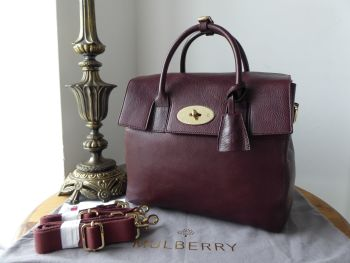 Mulberry Cara Delevingne Backpack in Oxblood Natural Vegetable Tanned Leather - New* - SOLD