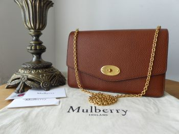 Mulberry Medium Darley in Oak Grained Vegetable Tanned Leather