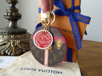 Louis Vuitton Limited Edition Summer Trunks Key Holder Bag Charm - SOLD