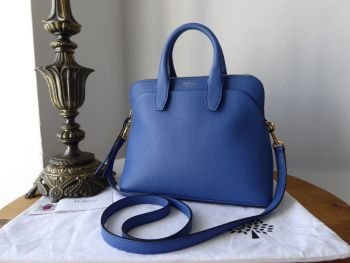 Mulberry Colville in Porcelain Blue Small Classic Grain - SOLD
