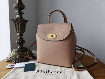 Mulberry Mini Bayswater Backpack in Rosewater Small Classic Grain with Felt Liner - SOLD