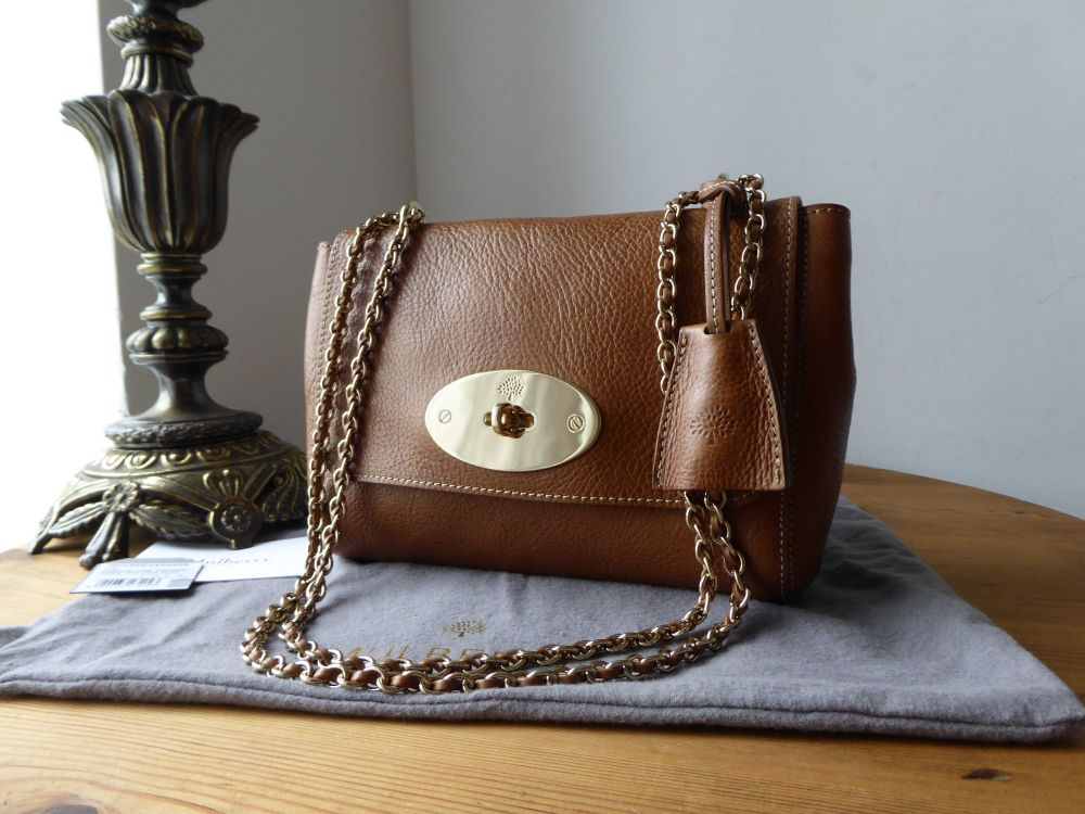 Mulberry Regular Lily in Oak Natural Vegetable Tanned Leather & Felt Liner