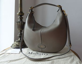 Mulberry Small Selby in Solid Grey Small Classic Grain - Sold