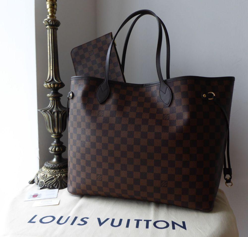 Louis Vuitton Neverfull GM in Damier Ebene