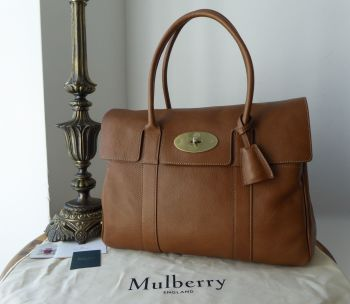 Mulberry Classic Heritage Bayswater in Oak Natural Vegetable Tanned Leather - New* - SOLD