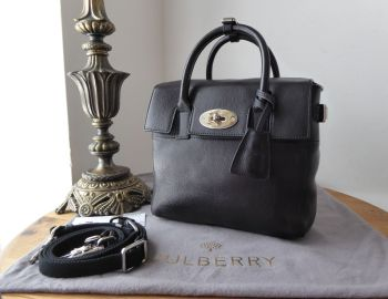 Mulberry Cara Delevingne Mini Back Pack in Black Natural Vegetable Tanned Leather (Sub) - SOLD