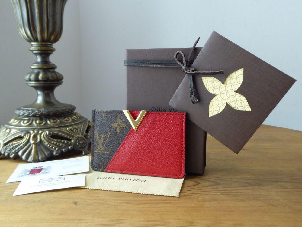 Louis Vuitton Kimono Card Slip Case in Monogam Cerise - New*