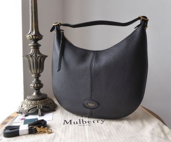Mulberry Small Selby in Black Small Classic Grain - SOLD