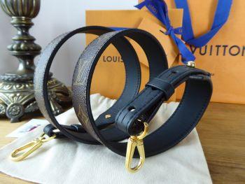 Louis Vuitton Shoulder Strap Bandouliere XL Monogram Noir - New