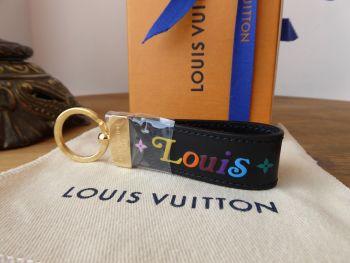Louis Vuitton 'New Wave' Dragonne Key Holder Keyring - SOLD
