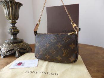 Louis Vuitton Mini Pochette Accessoires in Monogram - SOLD