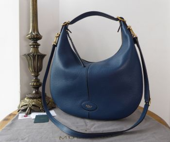 Mulberry Small Selby in Deep Sea Small Classic Grain Leather