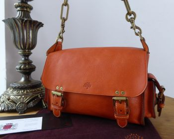 Mulberry Vintage Brooke Satchel in Ginger Darwin Leather - SOLD