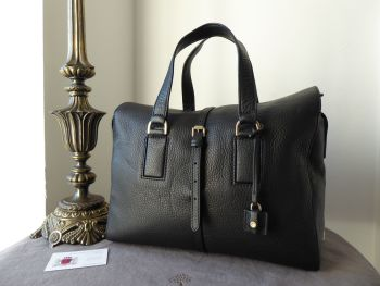 Mulberry Large Roxette in Black Calfskin