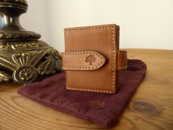 Mulberry Mini Multi Photoframe in Oak Natural Vegetable Tanned Leather