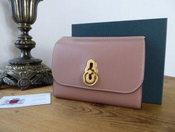 Mulberry Amberley Medium Purse Wallet in Dark Blush Smooth Calf Leather