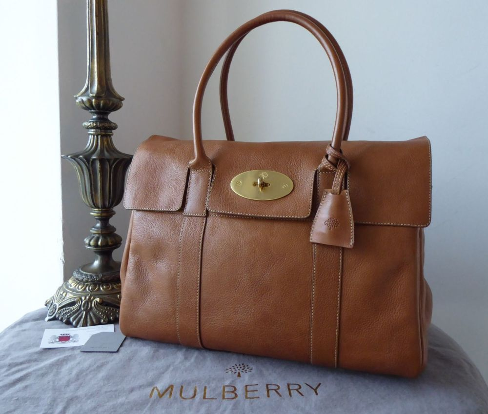 Mulberry Classic Heritage Bayswater in Oak Natural Vegetable Tanned Leather