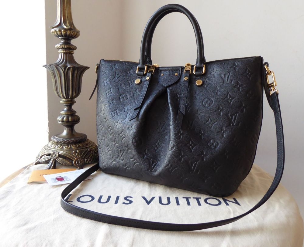 Louis Vuitton Mazarine MM in Empreinte Noir