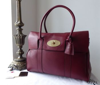 Mulberry Classic Heritage Bayswater in Black Forest Soft Matte