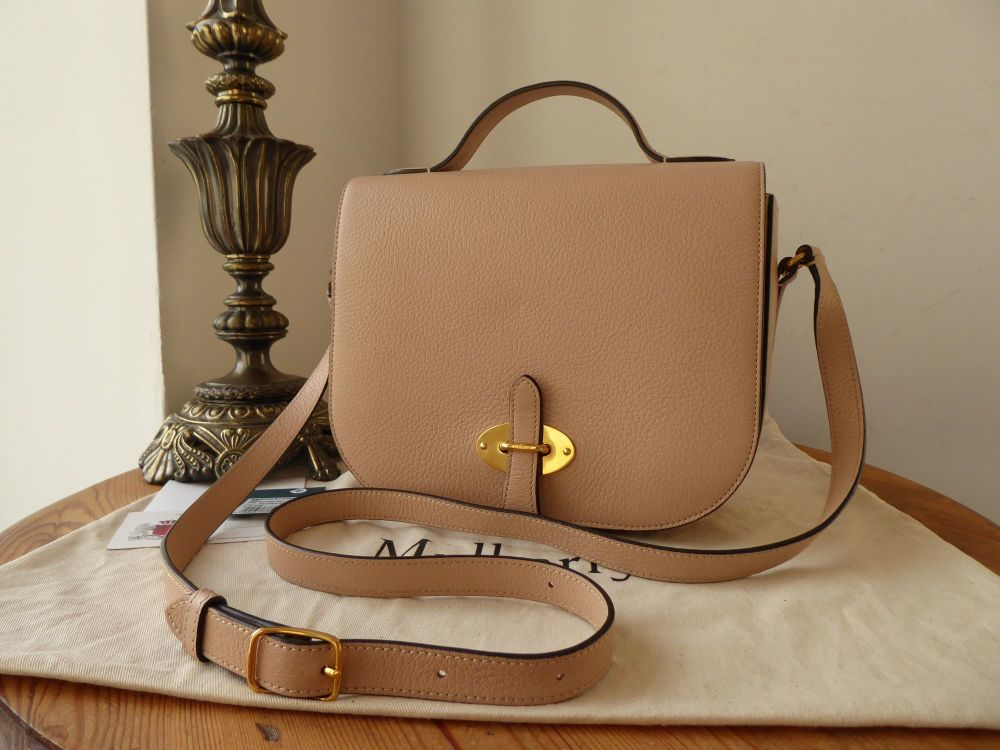 Mulberry Tenby in Rosewater Goat Textured Calf Leather